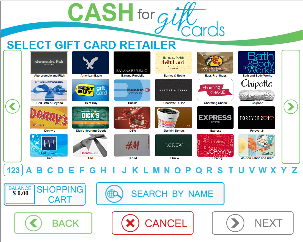 card cash gift card exchange