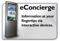 econcierge digital signage and kiosk