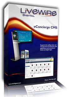 eConcierge CMS Software Package