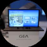 GEA Product Showcase Tradeshow Interactive Display