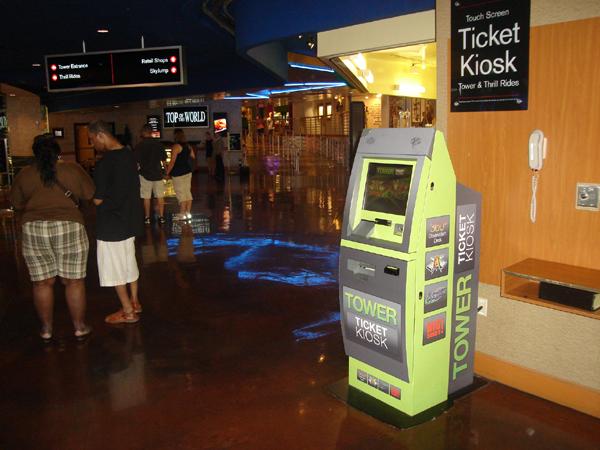 Stratosphere Ticket Kiosk