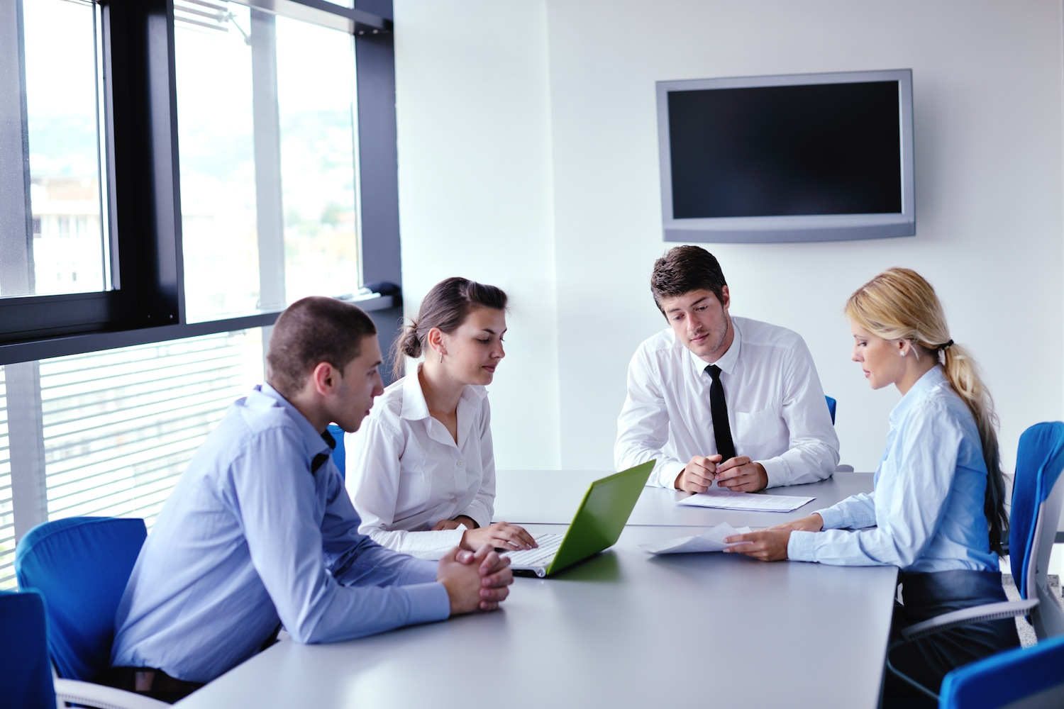 business people in a meeting at office - Livewire Digital ...