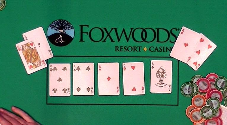 Foxwoods Casino Poker Kiosk