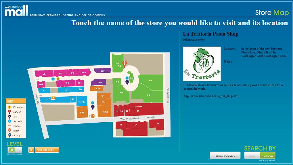 Washington Mall Wayfinding Case Study - Livewire Digital - Kiosk ...