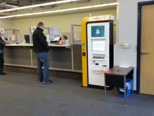 DMV Vehicle Registration Kiosk