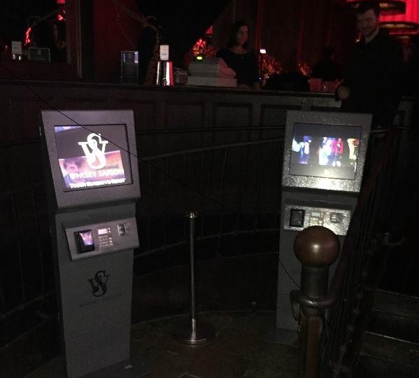Whisky Saigon Payment Kiosks