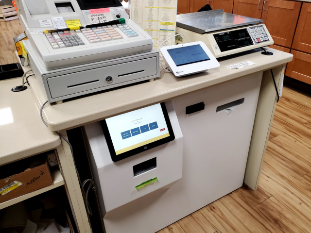 POS CheckMate Smart Safe Kiosk